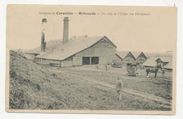 CPA - Environs De Carentan - Brévands, Un Coin De L'usine Des Phosphates, Circulée, Petite Animation - Carentan