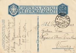 Militari - Guerra 1939/45 - Cartoline Postali Per Le Forze Armate In Franchigia - - Guerra 1939-45