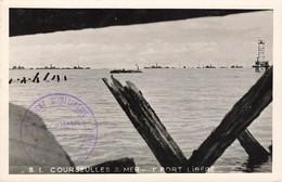 COURSEULLES SUR MER : 1er PORT LIBERE - Courseulles-sur-Mer