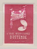 Ostende  Foire Internationale 1952 Vignette - Commemorative Labels