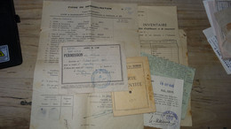 WWII : Papiers D'un Militaire, Camp De Jeunesse Et Autres Voir Details Des Scans  ................ PHI-3 - 1939-45