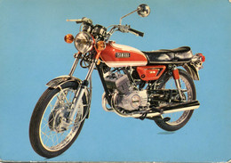 MOTO YAMAHA YAS 125 CM3 - BI CYLINDRE - PUISSANCE 15 CV - VITESSE DE POINTE 130 KMH - Motos