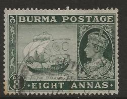 Burma, 1938, SG 29, Used - Burma (...-1947)