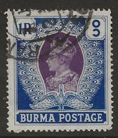 Burma, 1938, SG 30, Used - Burma (...-1947)