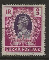 Burma, 1946, British Civil Administration, SG 60, Used - Burma (...-1947)