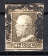ITALIEN, SIZILIEN, 1859 Freimarke König Ferdinand II., Gestempelt - Sicily