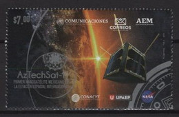 Mexico (2020) - Set - /  Aztechsat 1 - Space - America Del Nord