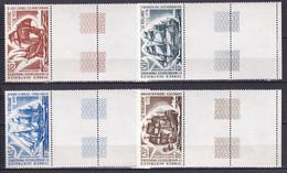 TAAF - POSTE AERIENNE YVERT N° 30/33 ** MNH - BATEAUX - COTE = 38 EUR. - Luchtpost