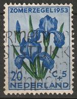 Netherlands 1953 Sc B253  Used - Gebruikt