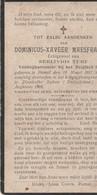 ABL, Maesfranckx Geboren Te Pamel 1887 - Soltau 1916 - Obituary Notices