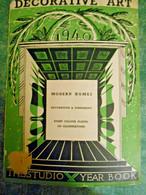 Architettura Ed Arredamento - Decorative Art 1940 -London - New York - Architettura