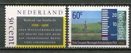 Holland Netherlands Mi# 1285-6 Postfrisch/MNH - Lawbook, Tide Messure - Nuevos