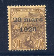 TIMBRES MONACO REF010521LI, Timbre N° 41, Charnière Forte, Cote 70 € - Unclassified