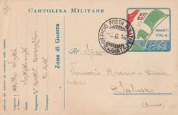 Militari - Guerra 1914/18 - Cartolina Militare In Franchigia - - Oorlog 1914-18