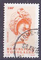 Timbre Du Togo De 1992 Tp   Costume Traditionnel- Tp Oblitéré - Togo (1960-...)