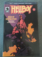 HELLBOY - Seed Of Destruction (part One) - 25th Anniversary Edition - Unclassified