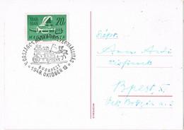 40340. Tarjeta Postal BUDAPEST (Magyar) Hungria  1948. Coche De Correos, Posta - Briefe U. Dokumente