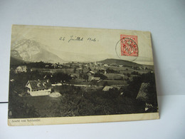 AESCHI VON SCHONBUHL SUISSE SO SOLEURE CPA 1911 A BENTELI BERN - SO Solothurn
