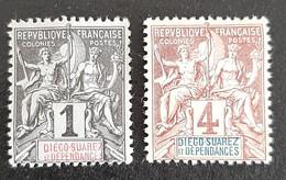DIEGO SUAREZ     N° Y&T  25 Et 27  * - Unused Stamps