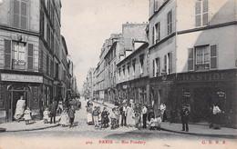 PARIS XV - Rue Fondary    Recto Verso - Arrondissement: 15