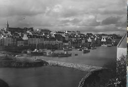 Trèboul Douarnenez Le Port A Marée Haute 1951 - Tréboul
