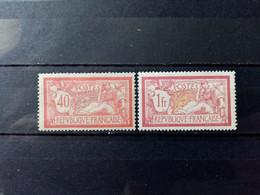 FRANCE.1900. Type MERSON N° 119 Et 121 NEUFS Avec Traces De Charnières.   Côte YT 2020 : 49,00 € - Neufs