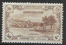 Turkey Mlh * 6 Euros 1920 - Ongebruikt