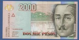 COLOMBIA - P.475a – 2.000 PESOS07/03/2005 - UNC - Colombia