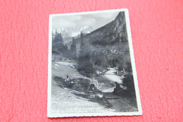 Aosta Prè St. Didier La Strada Per Piccolo S. Bernardo 1951 + NO Francobollo Animata - Otras Ciudades