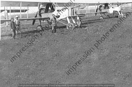 PHOTO RETIRAGE REPRINT AVION VOISIN CANON 14-18 AA 323 - Aviazione