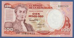 COLOMBIA - P.426e – 100 PESOS01/01/1991 - UNC - Colombia