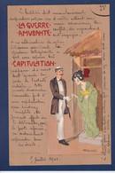 CPA Kirchner Raphael Art Nouveau Femme Woman Circulé La Guerre Amusante - Kirchner, Raphael