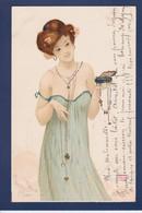 CPA Kirchner Raphael Art Nouveau Femme Woman Circulé - Kirchner, Raphael