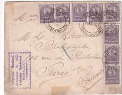 PARAGUAY 1902 LETTRE POUR PARIS - Paraguay