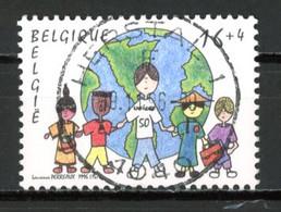 BE   2670  Obl  --   Solidarité : UNICEF  -  Obl. Parfaite Herstal  1er Jour + 2  -  Gomme XX MNH - Used Stamps