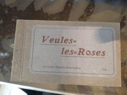 76 VEULES LES ROSES #26027 CARNET COMPLET 12 CP - Veules Les Roses