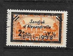 Ala5 -Alexandrette N°15 Oblitéré 1 Valeur CV + De 30,00 Euros - Unclassified