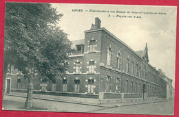 C.P. Leuze-en-Hainaut =  Etablissement  Des Dames De St-François De Sales  Façade Rue  D' Ath - Leuze-en-Hainaut