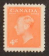 """CANADA YT 239A NEUF* MH """"GEORGE VI"""" ANNÉES 1949/1951 - Nuevos"""