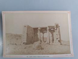Photo Du Temple Romain De Wady - Taffa En Nubie (Egypte) 11cm X 16cm Signé Léon Et Lévy (LL) - Sin Clasificación