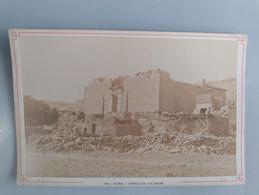 Photo Du Temple De Kalabché En Nubie (Egypte) 11cm X 16cm Signé Léon Et Lévy (LL) - Sin Clasificación