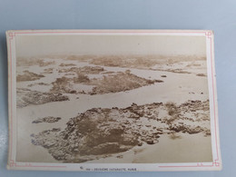 Photo Du Deuxième Cataracte Nubie (Egypte) 11cm X 16cm Signé Léon Et Lévy (LL) - Sin Clasificación