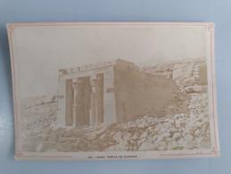 Photo Du Temple De Dandour Nubie (Egypte) 11cm X 16cm Signé Léon Et Lévy (LL) - Sin Clasificación