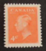 "CANADA YT 239A NEUF** MNH ""GEORGE VI"" ANNÉES 1949/1951 - Nuevos"