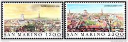San Marino 1987 - MNH ** - Paysages - Michel Nr. 1375-1376 Série Complète (smr151) - Neufs