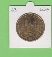 2007 Lyon - Notre-Dame De Fourvière - Le Chevet Monnaie De Paris Dept 69 - 2007