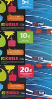 PHONE CARD - ITALIA - LOTTO SCHEDE TELEFONICHE - TIM - [2] Tarjetas Móviles, Prepagadas & Recargos