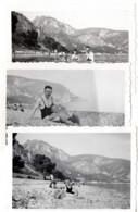 Eze Plage 1940 Photo Baigneur Baigneuse - Places