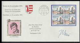 Switzerland Cover 1978 Second Tour De Scrutin Pour L'election Du Gouvernement Posted Saignelegier 1978 (LG20) - Briefe U. Dokumente