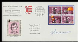Switzerland Cover 1978 Second Tour De Scrutin Pour L'election Du Gouvernement Posted Porrentruy 1978 (LG20) - Briefe U. Dokumente